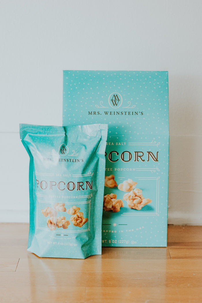Sea Salt Toffee Popcorn