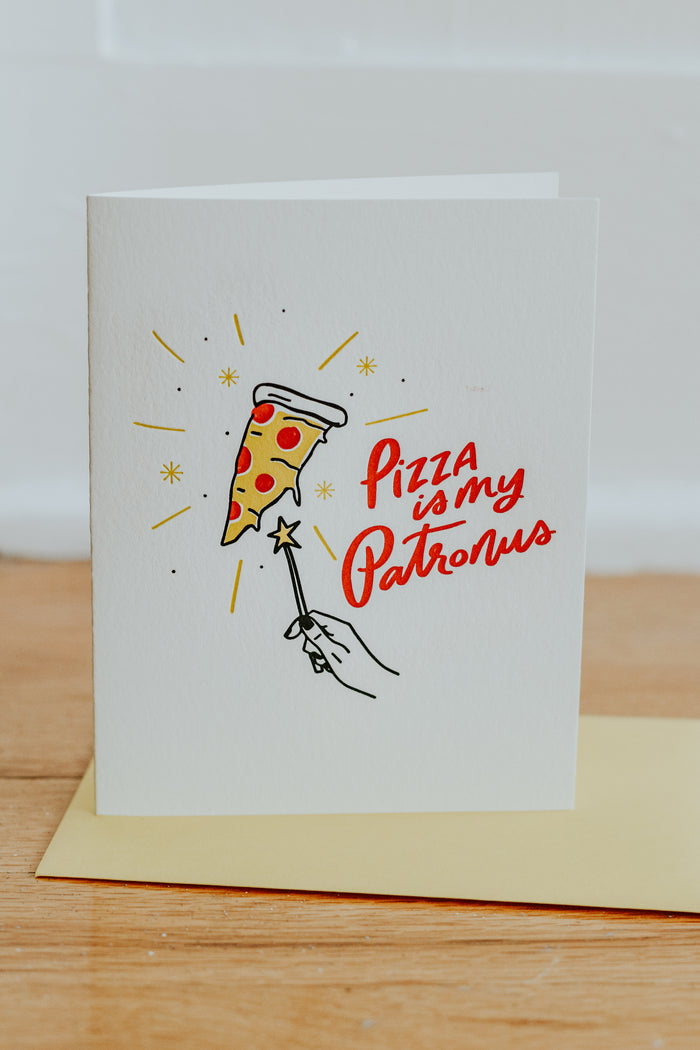 Pizza Patronus Card