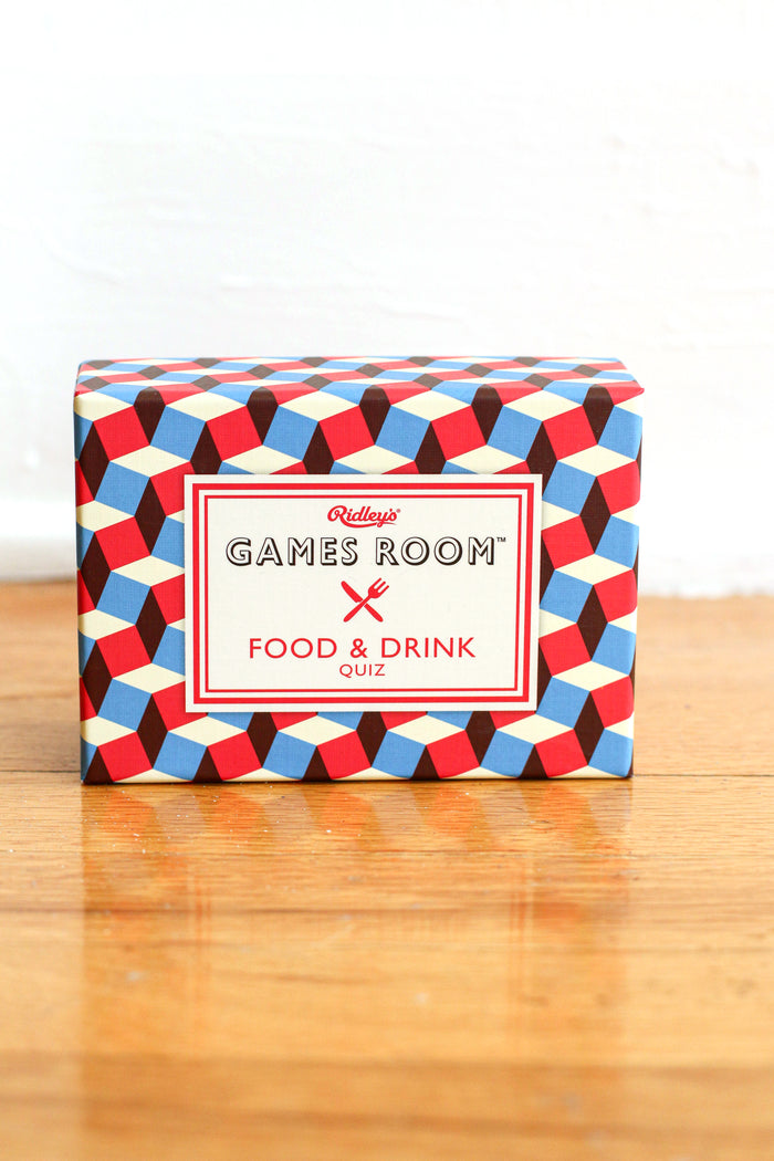 Food & Drink Quiz Game