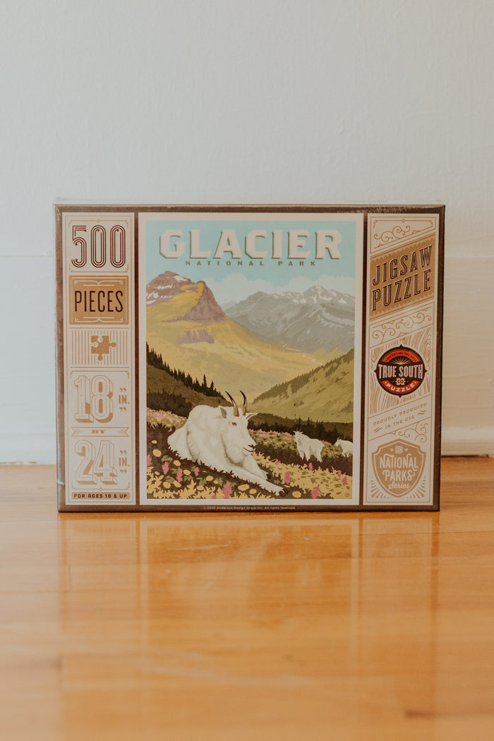Glacier National Puzzle