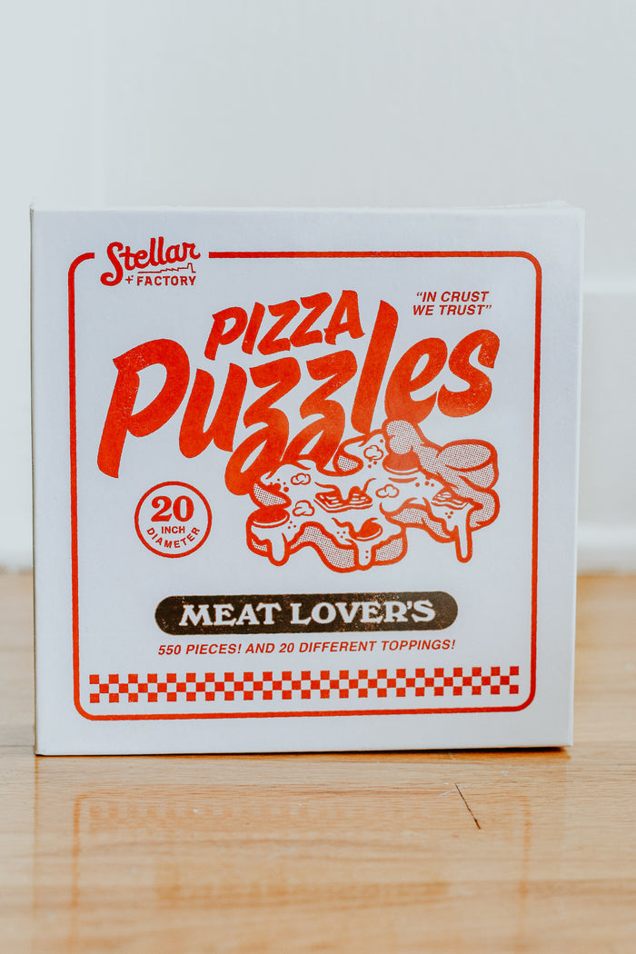 Meat Lovers' Pizza Puzzle