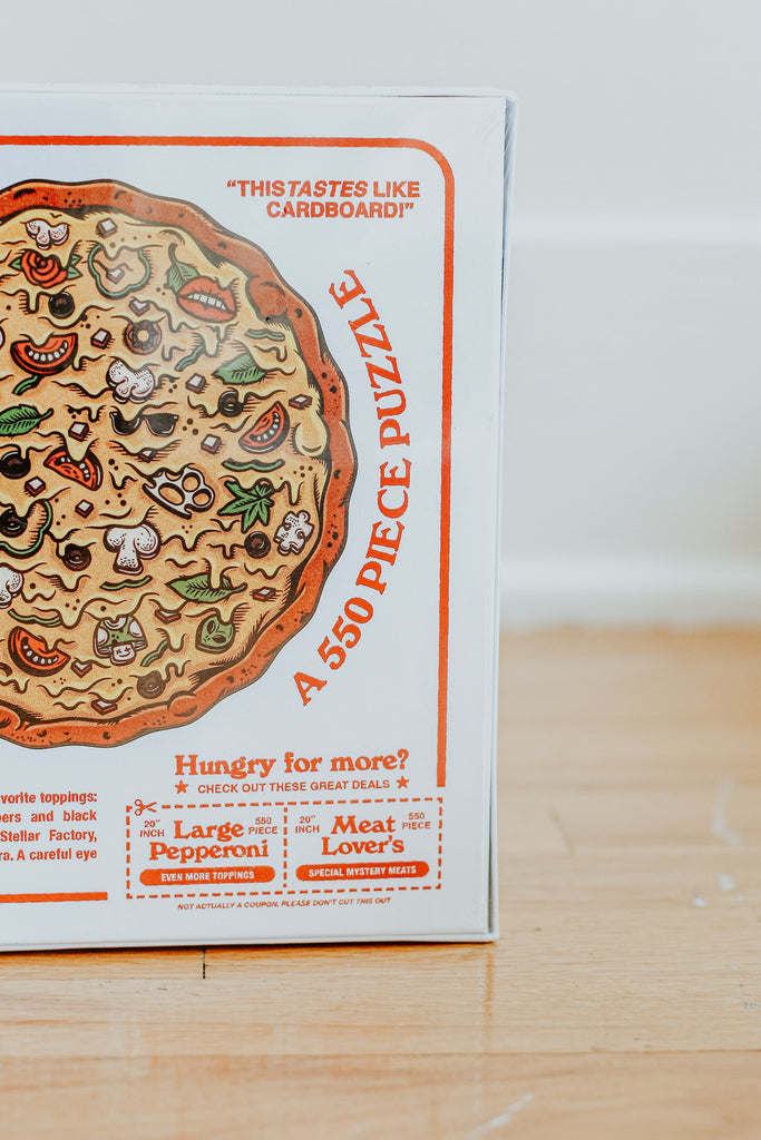 Veggie Lovers' Pizza Puzzle