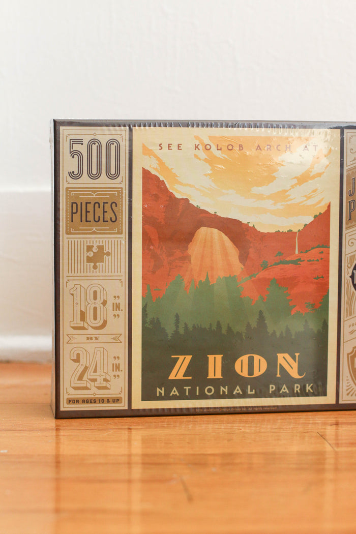 Zion National Park Puzzle