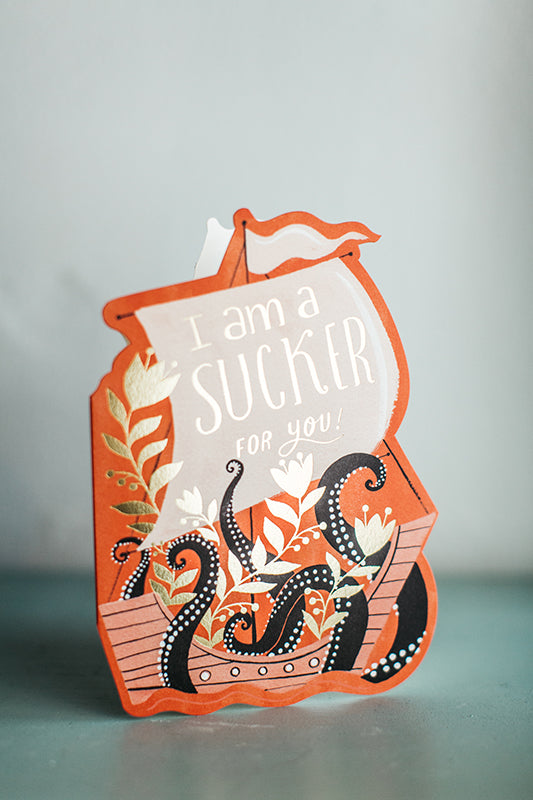 Sucker For You Card