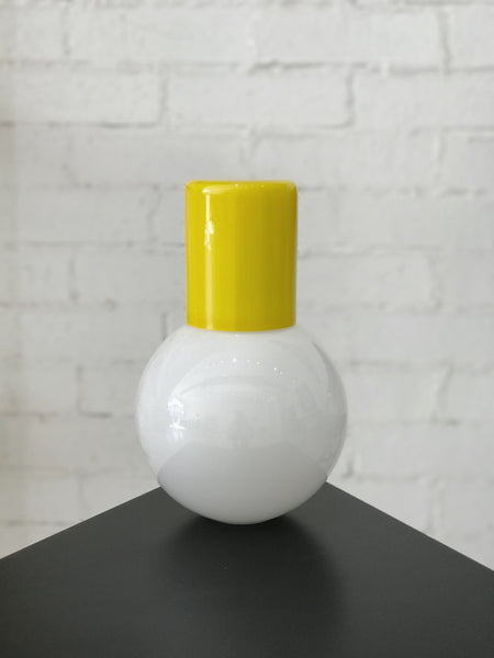 Hand-Blown Glass Carafe
