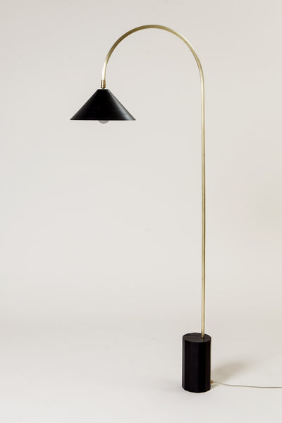 Coil drift bishop floor lamp lighting los angeles contemporary design furniture interiors la modern gallery