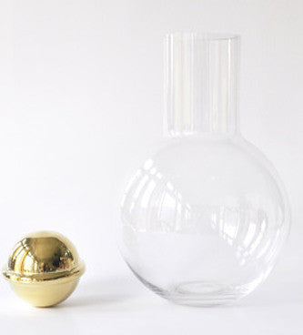 Hand Blown Glass Decanter