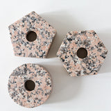 fort standard marble pink stone rosa perlino candle candleholder brooklyn los angeles contemporary design furniture interiors la west hollywood beverly hills bel air downtown modern gallery