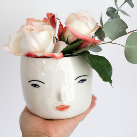 Face Pot Girl by Rami Kim