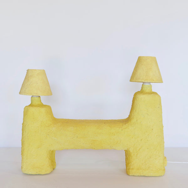 Craving for Crepi Lamp (Yellow) by Lea Mestres
