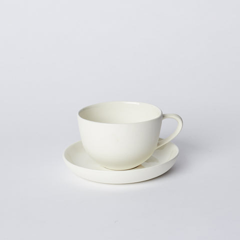 Tea Cup and Saucer Round by MUD Australia