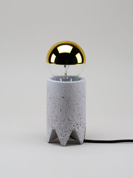 talbot yoon bob table lamp lighting los angeles contemporary design furniture interiors la west hollywood beverly hills bel air downtown modern gallery concrete recycled glass