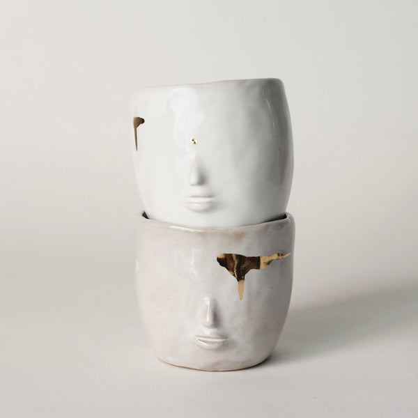Face Pot Luxe White by Rami Kim