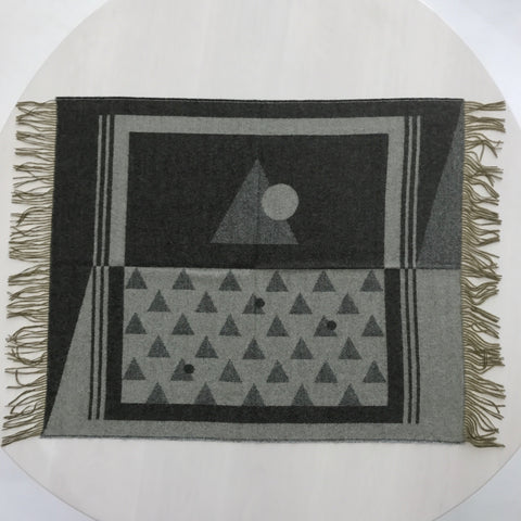 Geometric Pattern Throw
