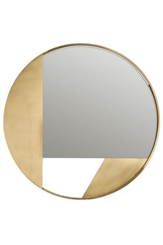 Revolution Mirror - Brass