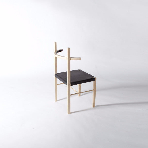Coil Drift Soren Chair Leather Ash Bleached Brooklyn Los Angeles  Contemporary Design Furniture Interiors La West
