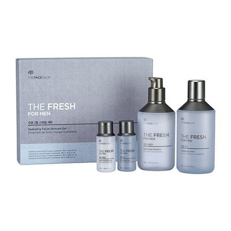 THE FRSH FOR MEN HYDRATING FACIAL SKINCARE SET
