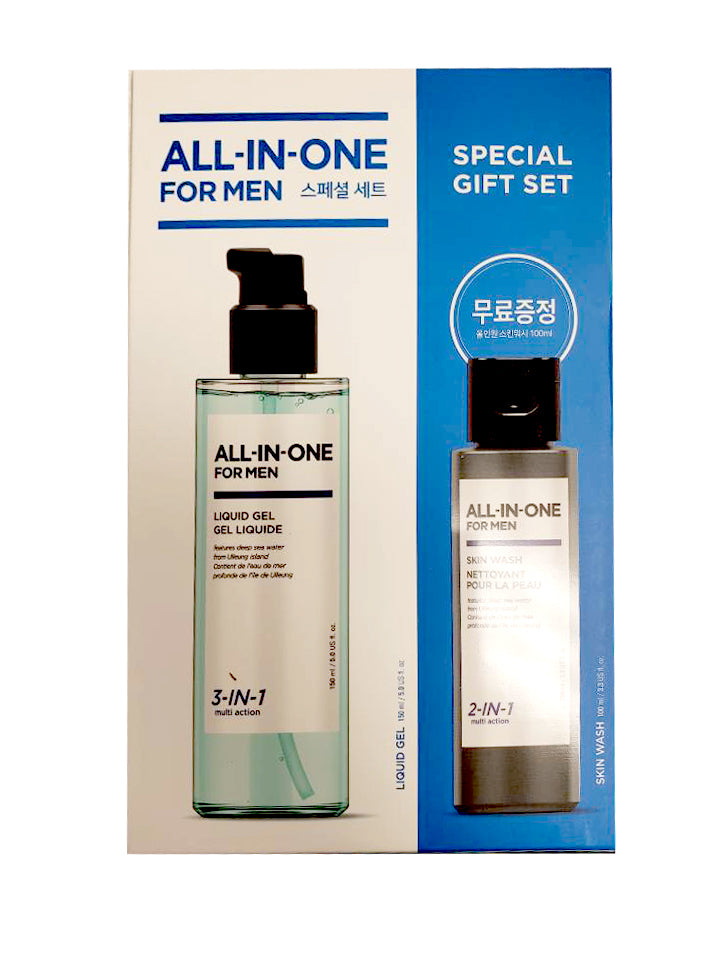 All In One For Men Liqiud Gel with Free Skin Wash