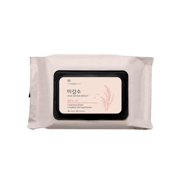Rice Water Bright Cleansing Facial Wipes