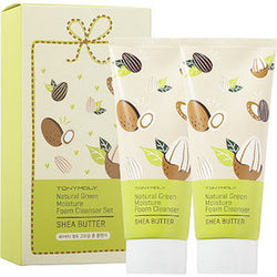 Natural Green Moisture Foam Cleanser Set - Shea Butter