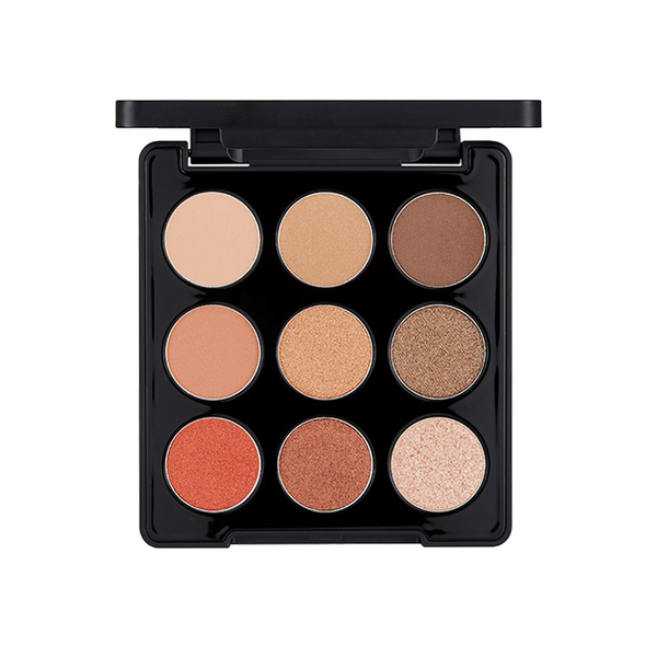 Mono Pop Eyeshadow Palette_Mood Brown