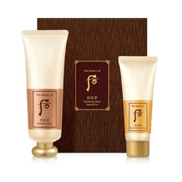 Whoo Gongjinhyang Purifying Mask Special Set