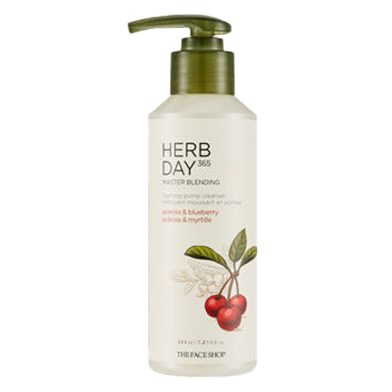 Herb Day 365 Master Blending Foaming Pump Cleanser  #Acerola & Blueberry