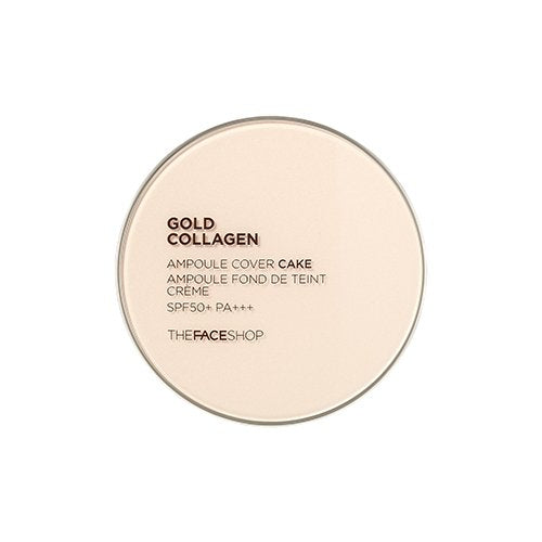 GOLD COLLAGEN AMPOULE COVER CAKE SPF50 PA++-Kpop Beauty