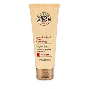 CLEAN FACE ACNE SOLUTION FOAM CLEANSER