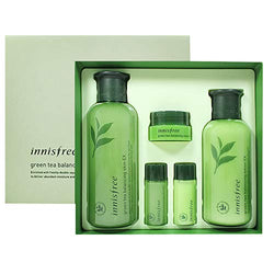 Green Tea Balancing Skin Care Set-Kpop Beauty