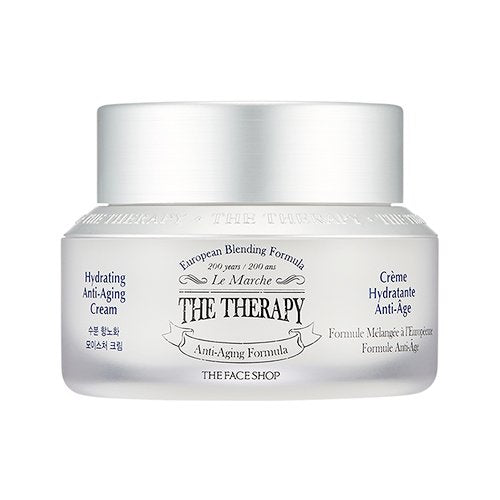THE THERAPY HYDRATING ANTI-AGING CREAM-Kpop Beauty