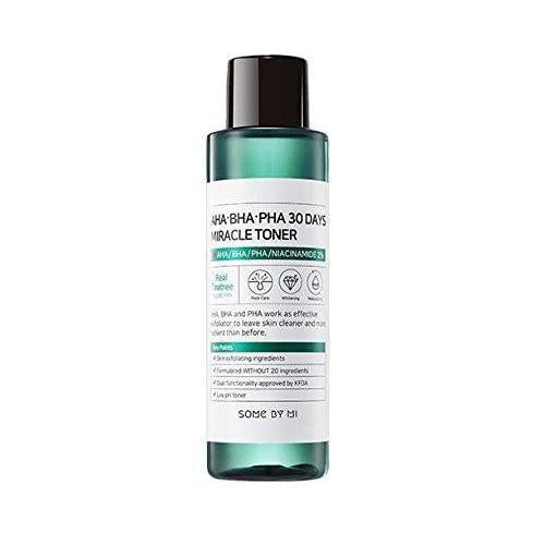 SOME BY MI AHA BHA PHA 31DAYS MIRACLE TONER