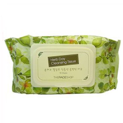 HERB DAY CLEANSING TISSUE