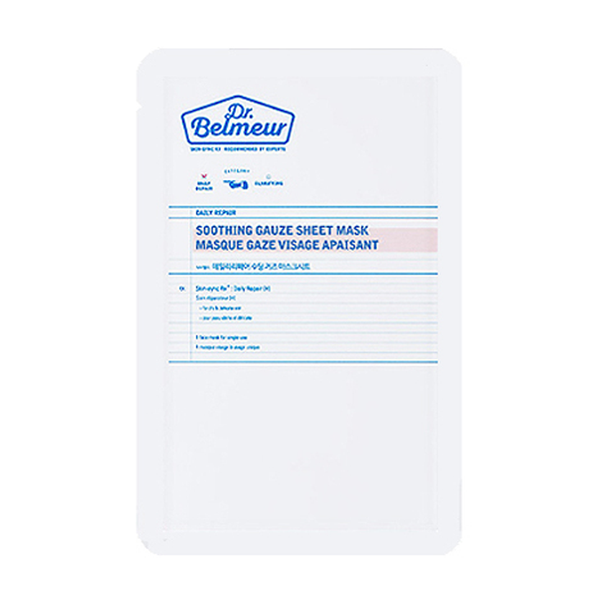 DR.BELMEUR DAILY REPAIR SOOTHING GAUZE MASK SHEET