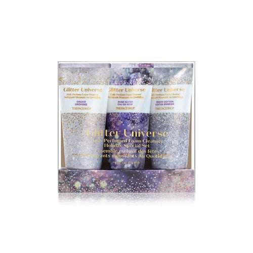 (Holiday Set)Daily Perfumed Limited Edition Foam Cleanser Set