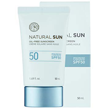 NATURAL SUN OIL-FREE SUN.SPF50(USA)