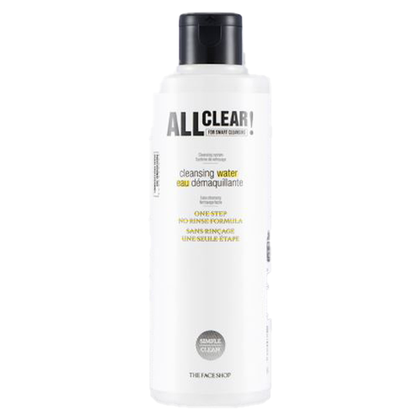 ALL CLEAR.CLEANSING WATER 250ML