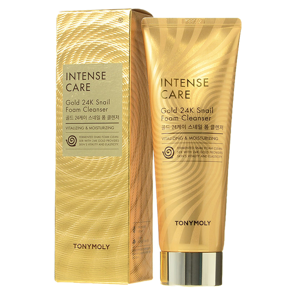 Intense Care Gold 24k Snail Foam Cleanser - 150ml