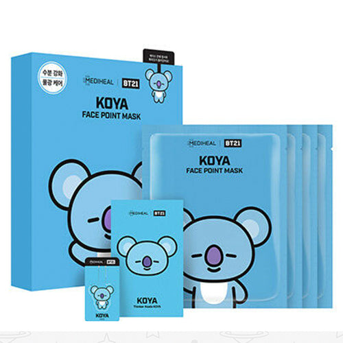 MEDIHEAL BT21 KOYA FACE POINT MASK SET