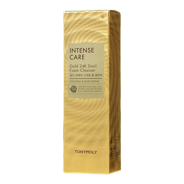 Intense Care Gold 24k Snail Foam Cleanser - 150ml-Kpop Beauty