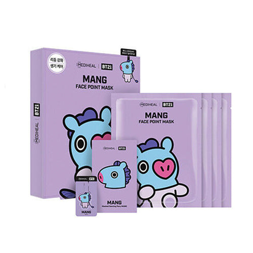 MEDIHEAL BT21 MANG FACE POINT MASK