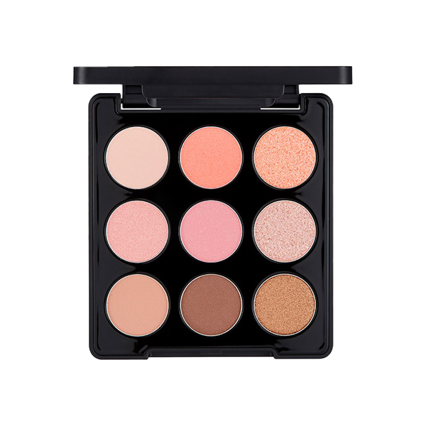 Mono Pop Eyeshadow Palette_Mood Coral