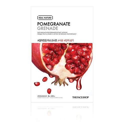 REAL NATURE MASK SHEET | POMEGRANATE