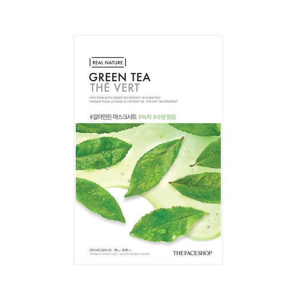 REAL NATURE MASK SHEET  | GREEN TEA