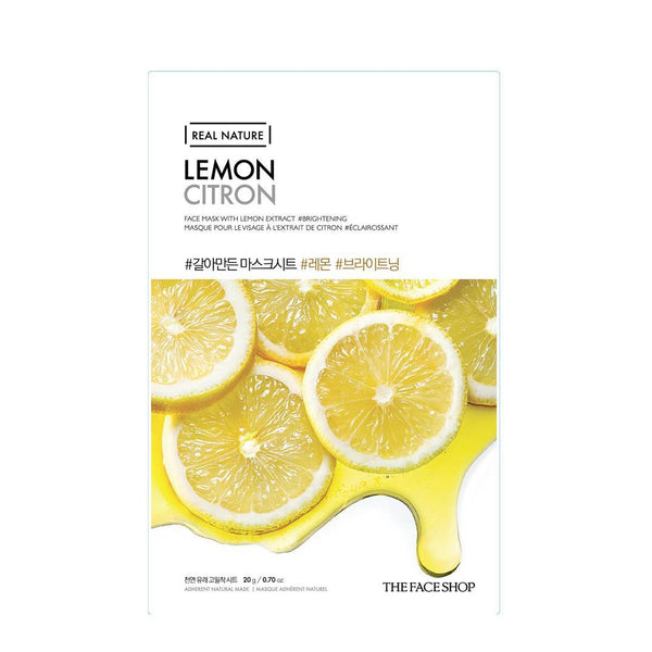 REAL NATURE MASK SHEET | LEMON