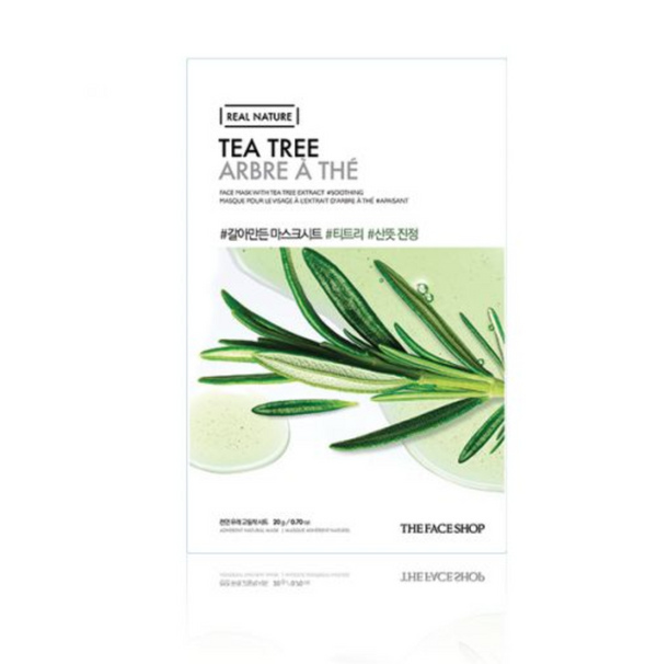 REAL NATURE MASK SHEET  | TEA TREE