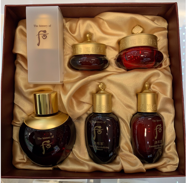Whoo Jinyulhyang Red Wild Ginseng Facial Oil Special Set
