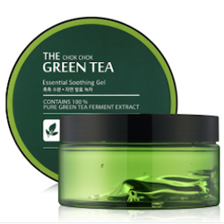 The Chok Chok Green Tea Essential Soothing Gel-Kpop Beauty