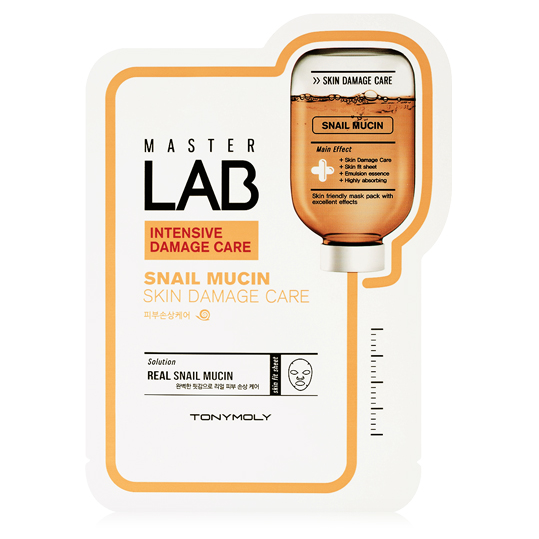 Master Lab Snail Mucin Mask-Kpop Beauty