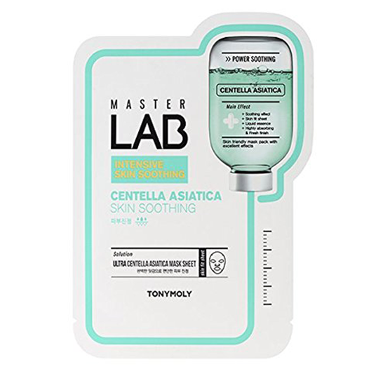 MASTER LAB CENTELLA ASIATICA SKIN SOOTHING MASK-Kpop Beauty